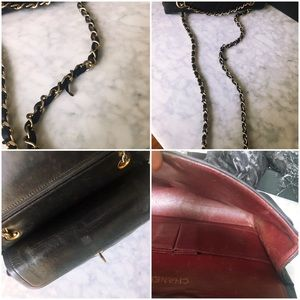 CHANEL Bags - Vintage Chanel Medium Double Flap Lambskin